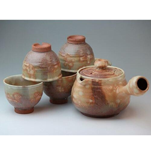 Japanese Tea Set Saido Tea Implement Hagi Ware Wooden Box Japan