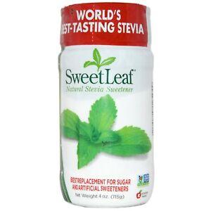 Wisdom Natural, SweetLeaf, Natural Stevia Sweetener, 4 oz (115 g)