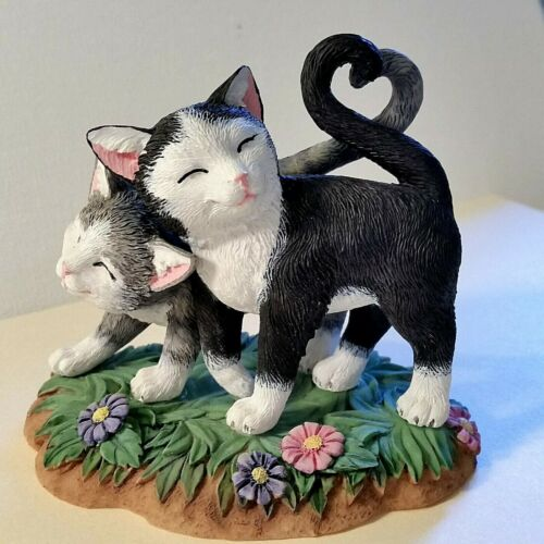 Lenox Kittens with Heart Tails Cat Figurine NEW IN BOX!