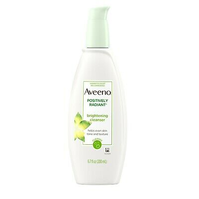 AVEENO Active Naturals Positively Radiant Cleanser 6.70 oz Aveeno Oil Free Cleanser