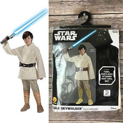 Star Wars Luke Skywalker Halloween Dress-Up Toddler Costume Size Small 4-6 NWT - Toddler Luke Skywalker Costume