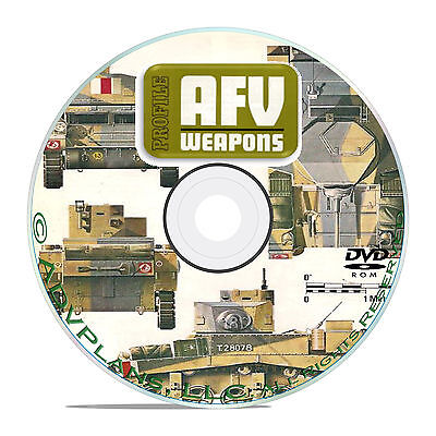 Profile Publications Armored Fighting Vehicles -65 Volume AFV WW1 WW2 CD DVD B54