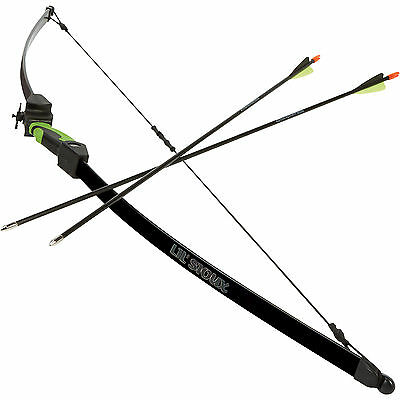 Lil' Sioux Recurve Archery Set - Includes Bow and 2 Arrows