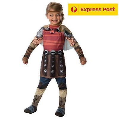 How To Train Your Dragon 2 Astrid costume Child Size Girls Hero Halloween S M