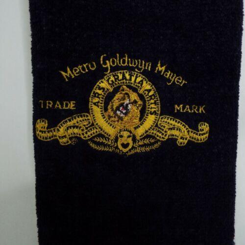 Vintage Towel Metro Goldwyn Mayer MGM Trade Mark  Golf Towel