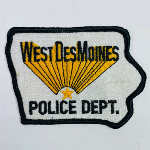 West Des Moines Police Iowa IA Patch