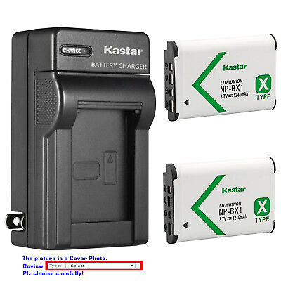 Compact Digital Camera Battery Charger (Kastar Battery Wall Charger for Sony NP-BX1 Cyber-shot DSC-HX99 Compact)