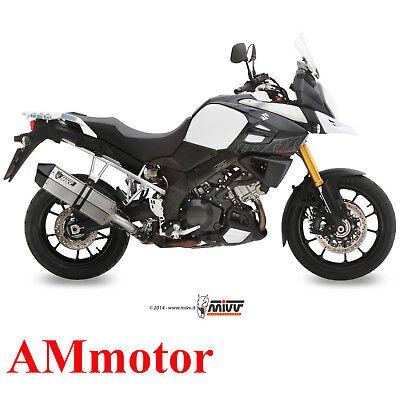 Exhaust Muffler Motorcycle Mivv Suzuki DL V-Strom 1000 2017 17 Speed Edge