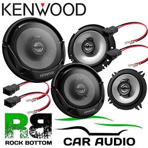 KENWOOD RENAULT CLIO MK2 1000 Watts Car Front & Rear Door Speakers & Connectors