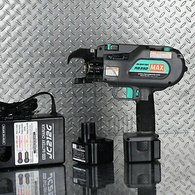 Max Usa Rb392 Cordless Rebar Tier Tying Tool Battery-operated Rb398 Rb395