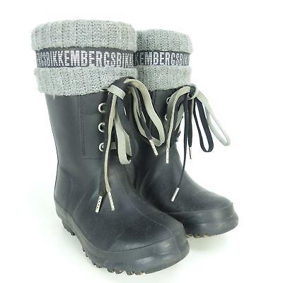 BIKKEMBERGS Gummistiefel Kinder Boots Stiefel Strick Gr. EUR 26