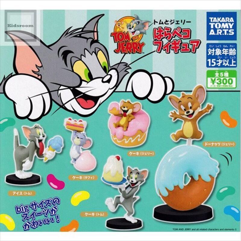 Tom and Jerry Hara Peco Figure complete set (5pcs) 2020 takara capsule toy