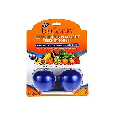 BLUAPPLE ETHYLENE GAS ABSORBER- FRUIT & VEGETABLES PRESERVE FRESH - BLUE APPLE