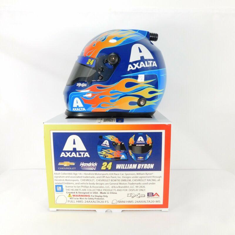 William Byron 2020 Axalta MINI 1/2 Scale Replica Helmet