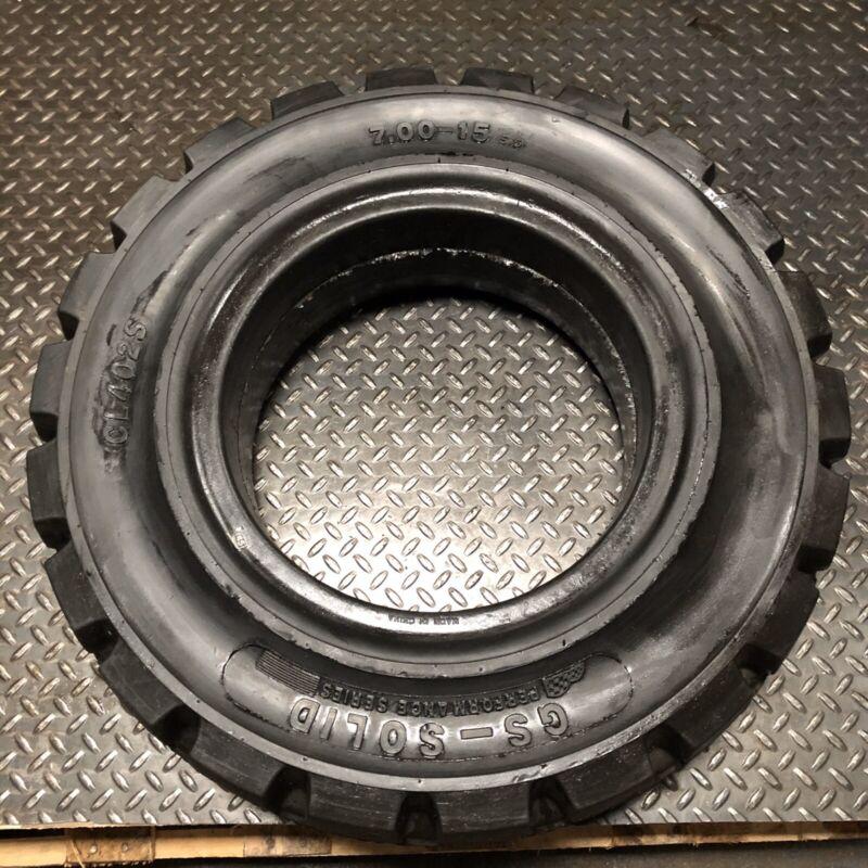 7.00-15 GS Solid Pneumatic Tires Rim Size 5.5 CL402S Forklift Tires NashFuel