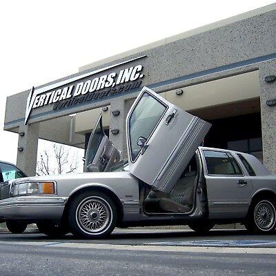 Lambo Doors Lincoln Town Car 1990-1997 Door Conversion kit Vertical Doors, Inc.,