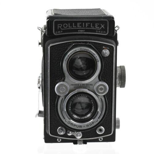 Rolleiflex 75mm camera German Franke & Heidecke Braunschweig working condition