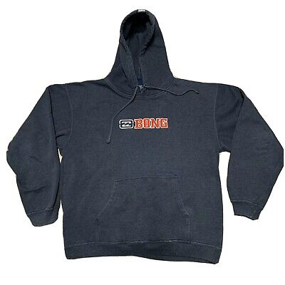 BILLABONG Men's Pullover Gray Hoodie XL Sweatshirt Skateboard Charcoal Billabong Cotton Sweatshirt