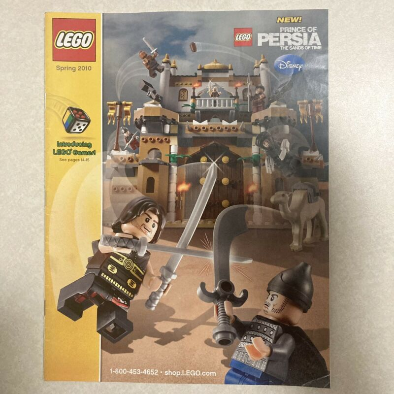 Lego Spring 2010 Catalog Prince Of Persia Atlantis Toy Story Bionicle Star Wars