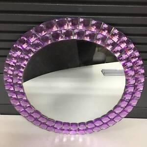 Purple Glass Mirror Preston Darebin Area Preview