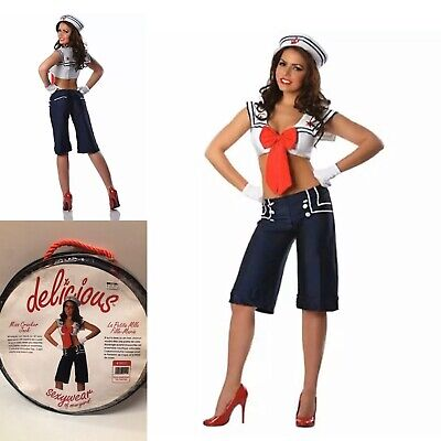 Costumes Delicious Miss Cracker Jack Costume, Red/White/Blue, Sz Small Clothing
