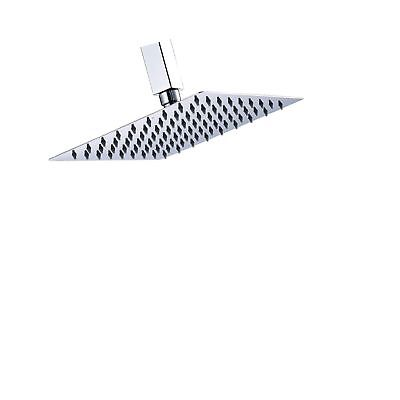 Rozin Chrome Bathroom Rainfall Shower Head 8-inch Square Top