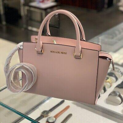 Michael Kors Leather Satchel crossbody Messenger Tote Bag Handbag Purse Shoulder