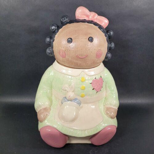 Treasure Craft Spice Rag Doll Cookie Jar Vintage