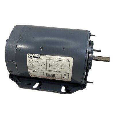 Ao Smith Electric Motor Bz12-13 13 Hp 115208-230 Single Phase 1725 Rpm
