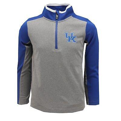 Kentucky Wildcats NCAA Official Kids & Youth Size Athletic Light Quarter Zip New Kentucky Wildcats Ncaa Light