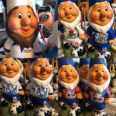 Personalised Bespoke Handpainted Football Garden Gnome Birthday Gift Idea