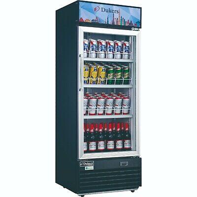 New 24 1 Glass Door Refrigerator Drink Display Cooler Nsf Dukers Dsm-12r 2218