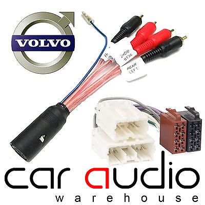 CELSUS AIS2131 Volvo V70 2000/> Car Stereo Radio ISO Harness Adaptor Wiring