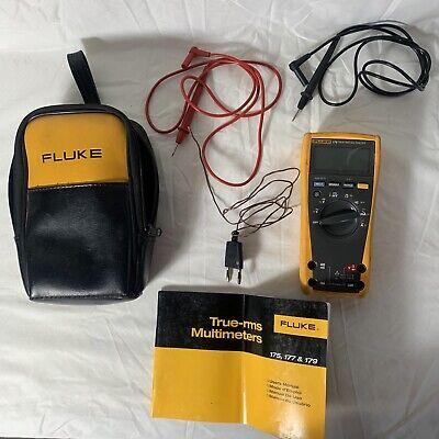 Fluke 179 True Rms Digital Multimeter Good Working Condition