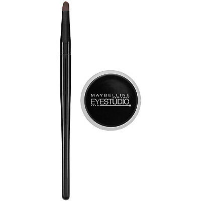 Maybelline Makeup Eyestudio Lasting Drama Gel Eye Liner, Bla