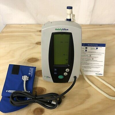 Welch Allyn 420 Spot Vital Signs Monitor With Temp Probe Nibp
