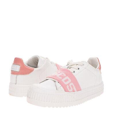 GCDS MINI Kids Sneakers Size 31 UK 12 US 13 Flatform Two Tone Logo Made in Italy