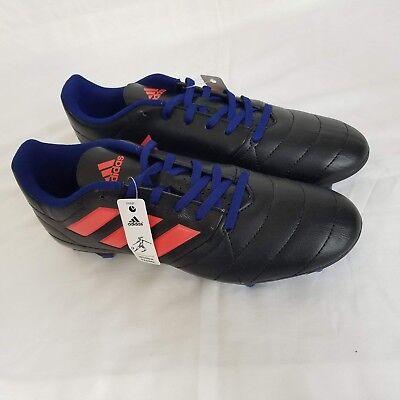ADIDAS PREDATOR X RED Optifit Football Boots UK Size 10.5 FG RARE Firm Ground