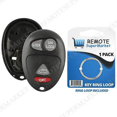 Replacement for Buick Century Regal Rendezvous Remote Car Key Fob Shell Case
