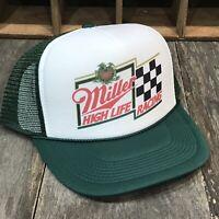 c7a880cce2477 Miller High Life Beer Nascar Racing Vintage 80 s Trucker Hat Bobby Allison   12