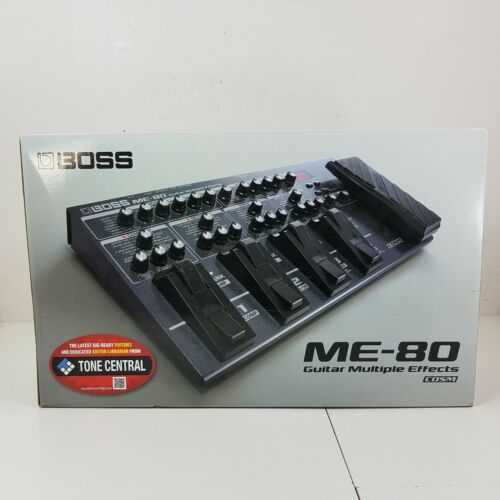 Boss ME-80 Guitar Multiple Effects COSM Processor Foot Switch - No Power Adapter