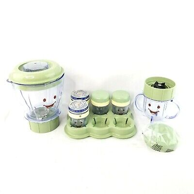 Magic Baby Bullet Baby Food Blender & Processor Replacement Part Lot