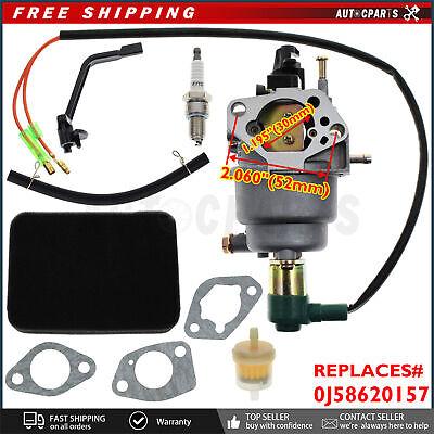 Carburetor For Powerland Pd6500e 6500 6875 Watts 6.5kw 6500w 13hp Generator