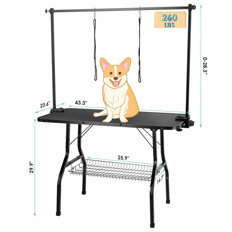 Large Pet Grooming Table 43