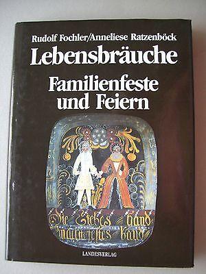 Lebensbräuche Familienfeste und Feiern Oberösterreich 1991 Kreuzstich