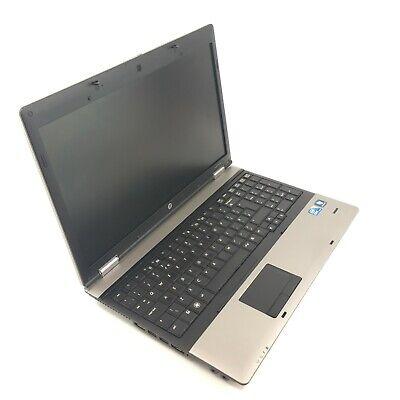 Windows 7 or 10 / 32 or 64 BIT HP 6550b Laptop PC Computer Intel i3 4GB - 320GB