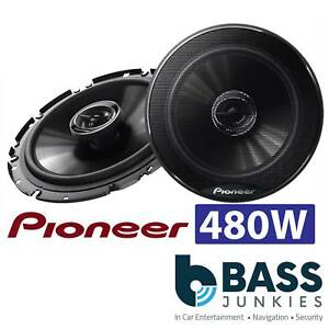 Seat Ibiza 6J 08-16 Pioneer 17cm 6.5 Inch 480 Watt 2 Way Front Door Car Speakers