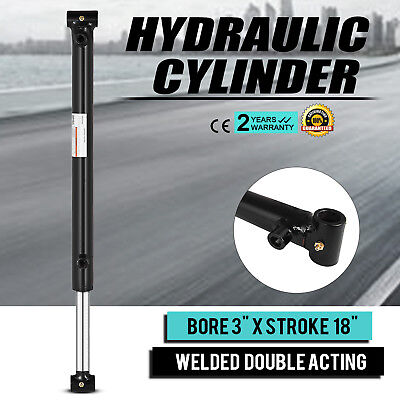 Hydraulic Cylinder 3 Bore 18 Stroke Double Acting Top Suitable Performance