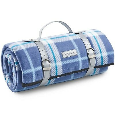 VonShef Picnic Blanket Mat Waterproof for Outdoor Picnics Beach Camping Navy