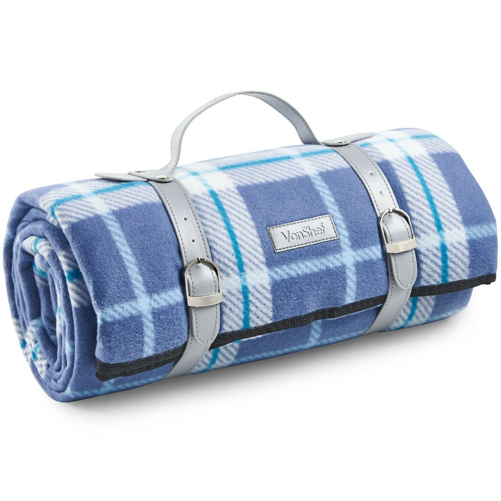 VonShef Picnic Blanket Mat Waterproof for Outdoor Picnics Be